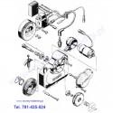 Schemat szarpaka (elektrostart)