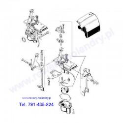 Schemat gaźnika TK - rower z silnikiem Sachs 301A