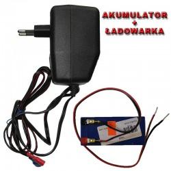 Ładowarka + akumulator żelowy