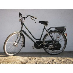Spartamet zielony - rower z silnikiem Sachs 301A