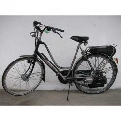 Spartamet szaro-zielony z elektrostartem - rower z silnikiem Sachs 301A