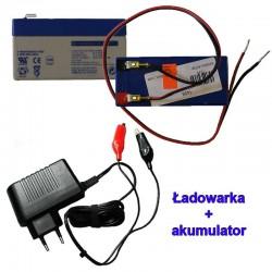 Akumulator i ładowarka do rowerów z silnikiem spalinowym