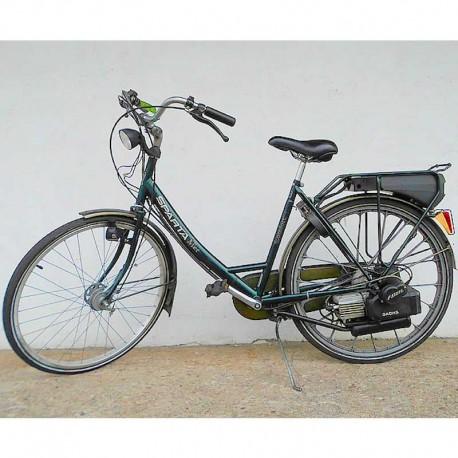 Spartamet z elektrostartem - rower z silnikiem spalinowym Sachs 301A