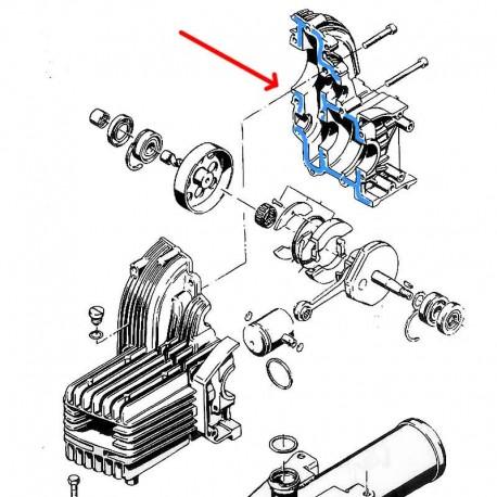 Simmering piasty koła 45x52x5 - rower z silnikiem Sachs 301a