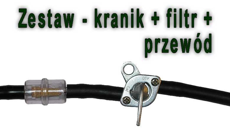 Kranik - filtr - przewód do rowerów z silnikiem Sachs 301A