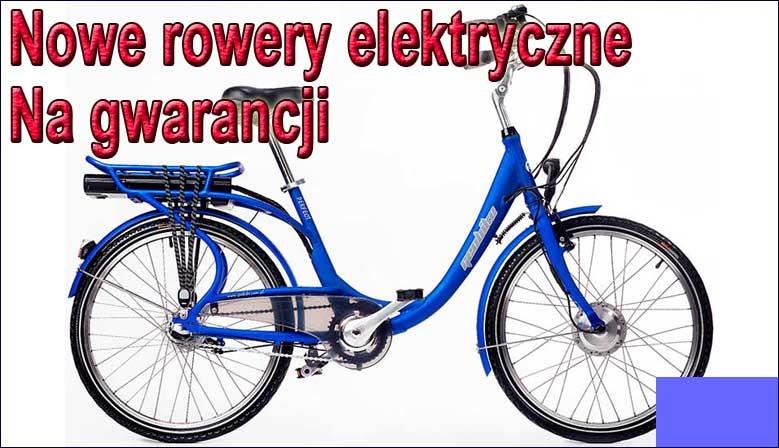 Elektryczne rowery