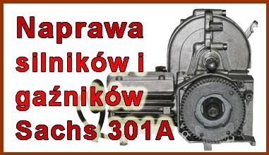 Naprawa silników i gaźników Sachs 301A